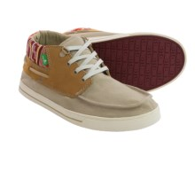 Sanuk Schooner Funk Lace Shoes (For Men) in Tan/Poncho - Closeouts
