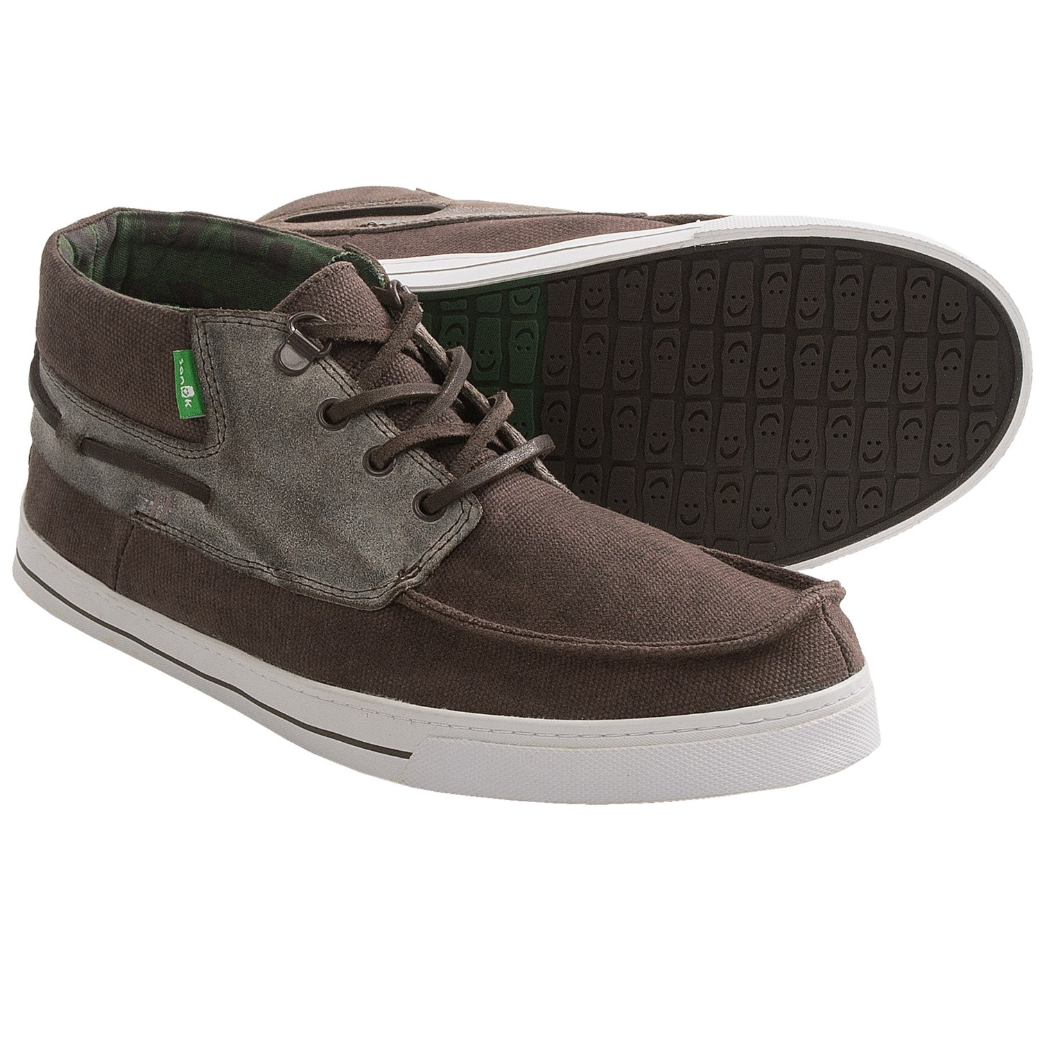 sanuk schooner shoes waxed canvas for save 32