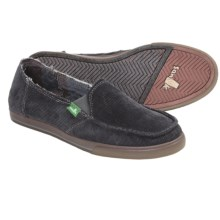 Sanuk Standard Corduroy Shoes (For Women) in Charcoal - Closeouts