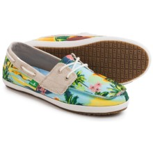 Sanuk Tropical Sailaway 2 Shoes (For Women) in Blue Hawaiian - Closeouts