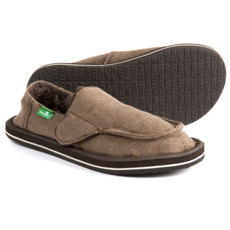 278d6446d4ed Sanuk Vagabond Chill Shoes - Slip-Ons (For Boys) in Brown
