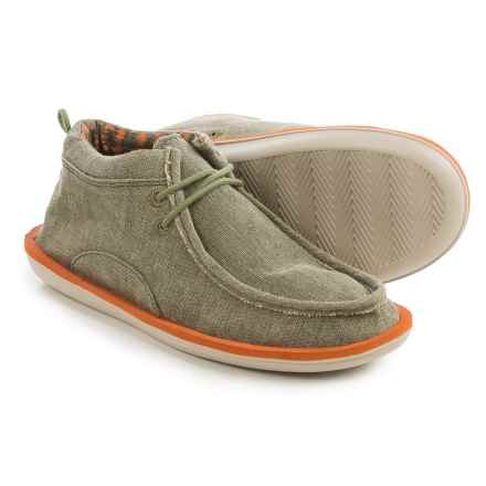 Sanuk Walla Chukka Boots (For Men) in Olive - Closeouts