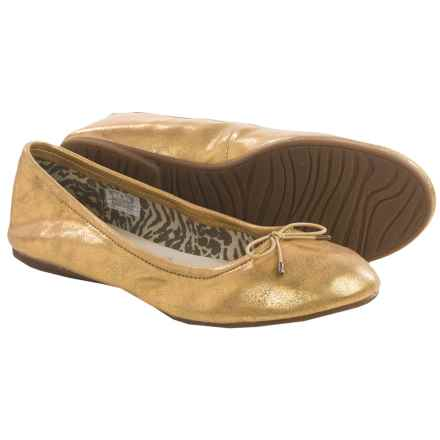 Sanuk Yoga Ballet Flats (For Women) in Gold - Closeouts