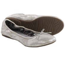 Sanuk Yoga Ballet Flats (For Women) in Silver - Closeouts