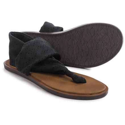 Sanuk Yoga Devine Sandals (For Women) in Black - Closeouts