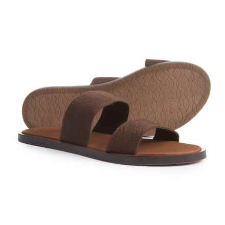 Sanuk Yoga Gora Gora Two-Band Sandals - Slip-Ons (For Women) in Dark Brown - Closeouts