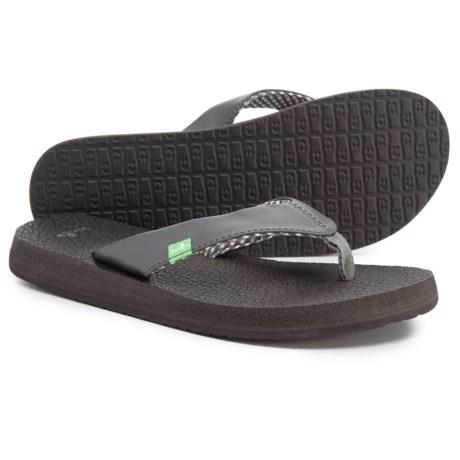 7b50946bb Sanuk Yoga Mat Tonal Flip-Flops (For Women) - Save 33%