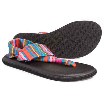 Sanuk Yoga Sling 2 Prints Sandals (For Women) in Cabaret Kauai Blanket