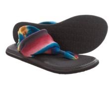 Sanuk Yoga Sling 2 Prints Sandals (For Women) in Indigo Multi/Blanket - Closeouts