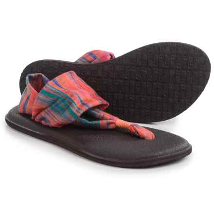 Sanuk Yoga Sling 2 Prints Sandals (For Women) in Multi Ikat - Closeouts