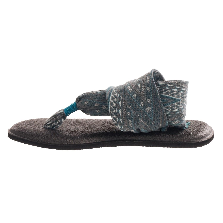 Sanuk Yoga Sling 2 Prints Sandals For Women Save 47