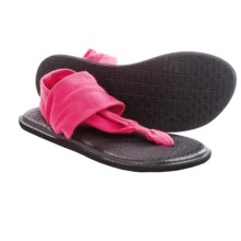 Sanuk Yoga Sling 2 Sandals (For Women) in Hot Pink - Closeouts