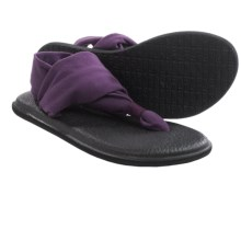 Sanuk Yoga Sling 2 Sandals (For Women) in Purple - Closeouts