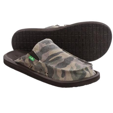 Sanuk You Got My Back 2 Basics Shoes - Slip-Ons (For Men) in Camo