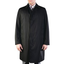 Sanyo Grays Trench Coat - Removable Liner Vest (For Men) in Black - Closeouts