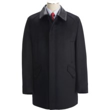 Sanyo Maple Jacket - Removable Leather Collar (For Men) in Black - Closeouts