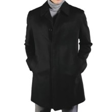 Sanyo Powell Overcoat - Water-Resistant Wool (For Men) in Black - Closeouts