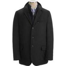 Sanyo Stratton Hybrid Micro Wool Sport Coat (For Men) in Black - Closeouts
