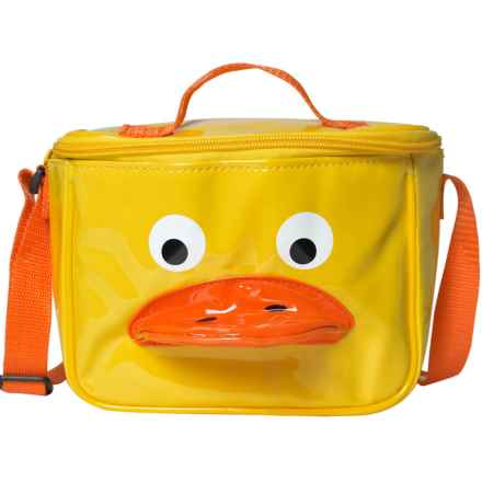 Sassafras Duck Lunch Bag (For Kids) in Yellow/Orange - Closeouts