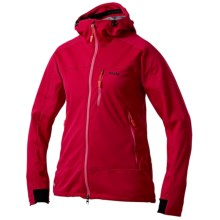 Sasta Tuulia Windstopper® Jacket - Soft Shell (For Women) in Lollipop Red - Closeouts