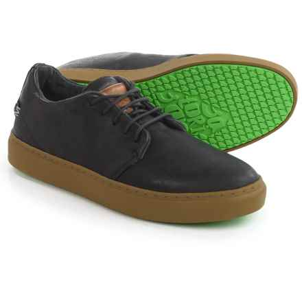 Satorisan Dalston Sneakers - Leather (For Men) in Black - Closeouts