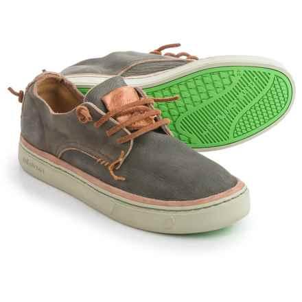 Satorisan Kioku Sneakers - Leather (For Men) in Algue - Closeouts
