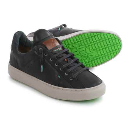 Satorisan Somerville Sneakers - Leather (For Men) in Black - Closeouts