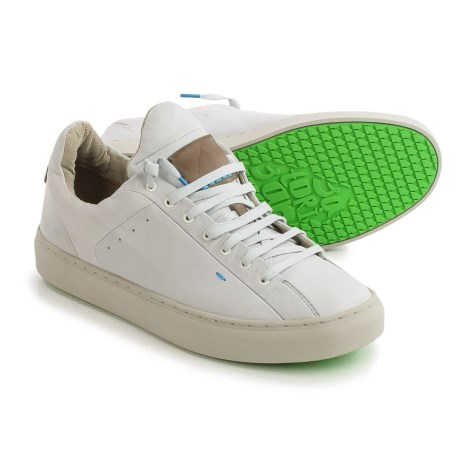 Satorisan Somerville Sneakers - Leather (For Men) in Concrete