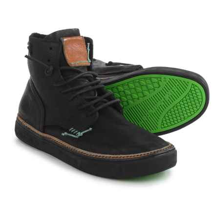Satorisan Tagomago Mid Sneakers (For Men) in Black - Closeouts