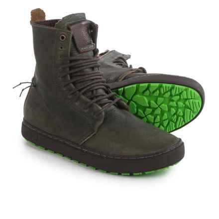 Satorisan Waraku Boots - Leather (For Men) in Green - Closeouts