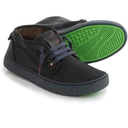 Satorisan Yasuragi Sneakers - Leather (For Men) in Black - Closeouts