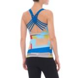 Satva Block Print Kala Cami Shirt - Sleeveless (For Women)