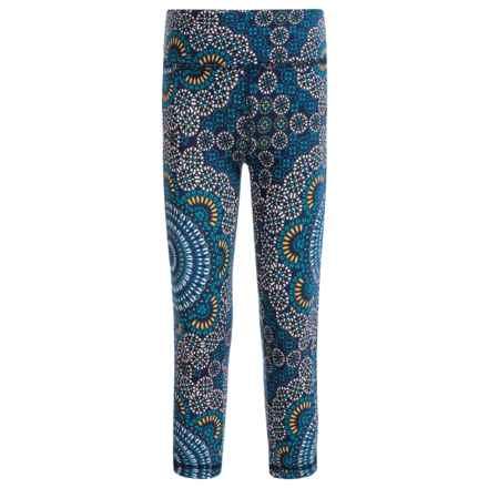 Satva Chakra Printed Leggings - Organic Cotton (For Toddler Girls) in Sahara Print - Closeouts