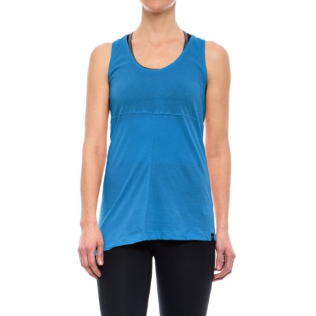 Satva Hailey Tank Top - Organic Cotton (For Women) in Waves