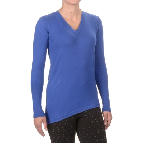 Satva Leah Sweater - Organic Cotton (For Women) in Iris