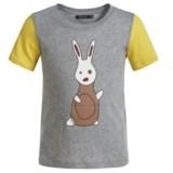 Satva Organic Cotton Color-Block T-Shirt - Short Sleeve (For Toddler Girls)