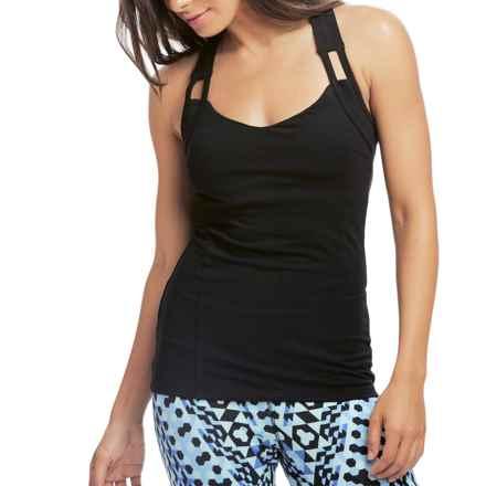 Satva Reva Tank Top - Organic Cotton (For Women) in Black - Closeouts