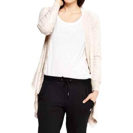 Satva Setu Cardigan Sweater - Organic Cotton, Open Front (For Women) in Ivory - Closeouts