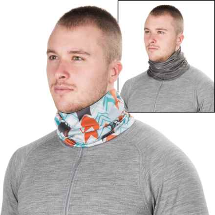 Sauce Frosty Neck Gaiter - Reversible (For Men and Women) in Shadow Cast/Skyward - Closeouts