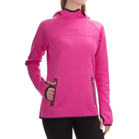 Saucony Aerospacer Hoodie Off Center Zip (For Women)