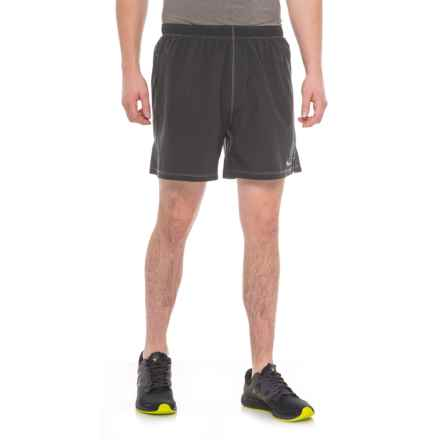 Saucony Alpha Shorts - Built-In Briefs (For Men) in Black - Closeouts