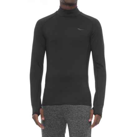 Saucony Altitude 2.0 Base Layer Top - Long Sleeve (For Men) in Black - Closeouts