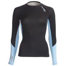 Saucony Amp Pro2 Recovery Compression Shirt - Long Sleeve (For Women) in Black - Closeouts