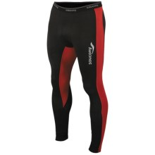 Saucony Amp Pro2 Recovery Compression Tights (For Men) in Black - Closeouts