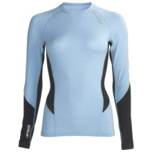 Saucony Amp Pro2 Training Compression Shirt - Long Sleeve (For Women) in Breeze - Closeouts