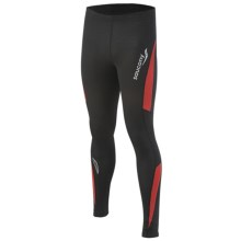 Saucony Amp Pro2 Training Compression Tights (For Men) in Black - Closeouts