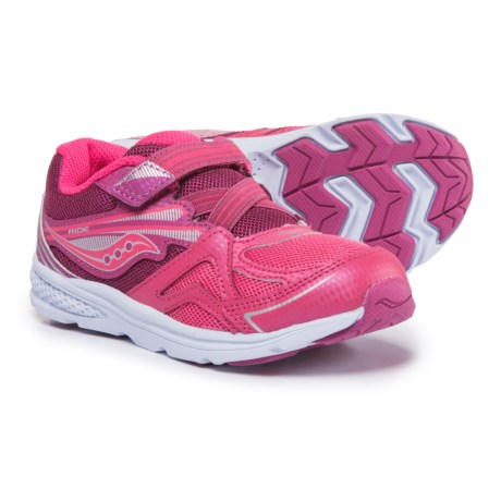 Saucony Baby Ride Sneakers (For Toddler Girls) in Pink/Berry