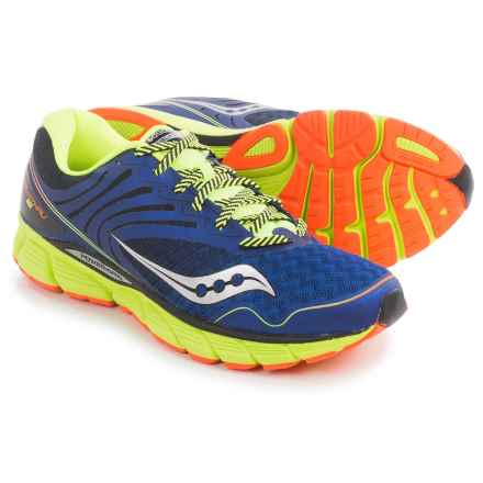 Saucony Breakthru 2 Running Shoes (For Men) in Blue/Orange/Citron - Closeouts
