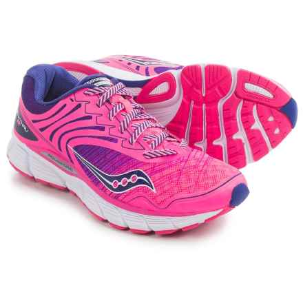 Saucony Breakthru 2 Running Shoes (For Women) in Pink/Navy - Closeouts