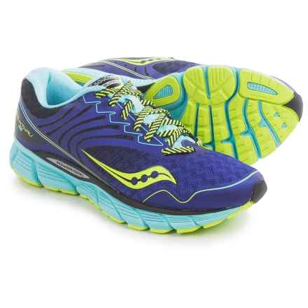 Saucony Breakthru 2 Running Shoes (For Women) in Twilight/Oxygen/Citron - Closeouts